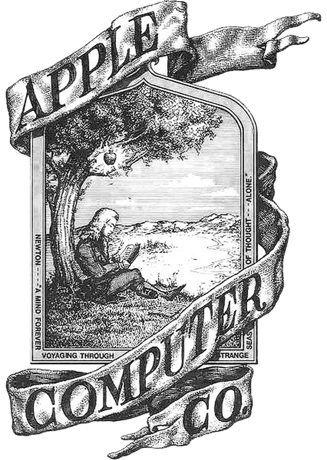 Apple Logo Ronald Wayne