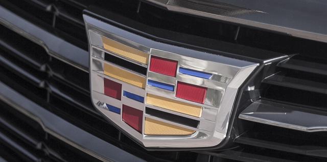 Cadillac Emblem on Hood