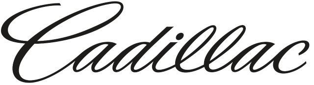 Cadillac Text Logo